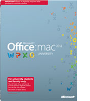 Office for Mac University 2011