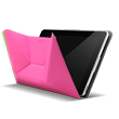 Acer Iconia A3-A10 Crunch-Cover - Rosa