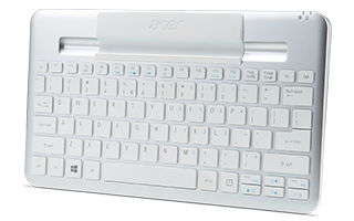 Bluetooth® Keyboard for Acer Iconia W3-810 Tablet | US International Layout