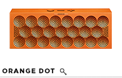 MINI JAMBOX Orange Dot