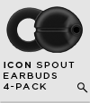 Jawbone ICON Spout Earbuds 4-Pack