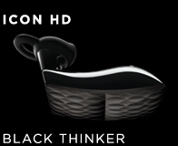 Jawbone ICON HD Black Thinker