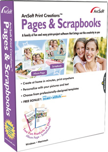 ArcSoft Print Creations - Pages & Scrapbooks