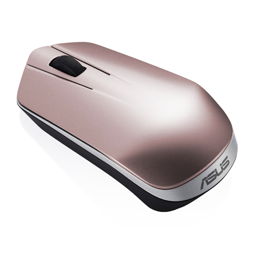 ASUS Wireless Optical Mouse WT450, Rose Gold
