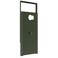 *PRIV Slide-Out Hard Shell, Military Green