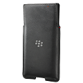 *PRIV Leather Pocket, Black