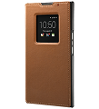 *PRIV Leather Smart Flip Case, Tan
