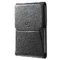 Passport Leather Swivel Holster - Black