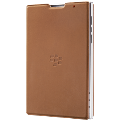 Passport Leather Flip Case - Tan