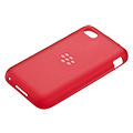 Coque souple Q5 - Rouge pur transparent