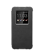 DTEK60 Genuine Leather Smart Flip Case, Black