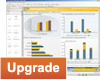 SAP Crystal Dashboard Design, starter package, 10 named user licenses, upgrade