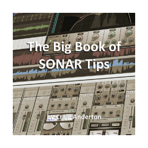 The Big Book of SONAR Tips