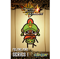 Monster Hunter™ 4 Ultimate Derring Armor Pin