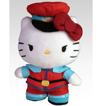 Sanrio x Street Fighter Mini Plush - M. Bison