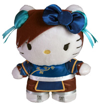 Sanrio x Street Fighter Mini Plush - Chun Li