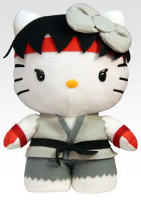 Sanrio x Street Fighter Plush - Ryu