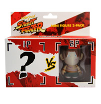 Kidrobot® x Street Fighter® Mini Figure 2-pack ? vs Vega