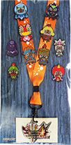 Monster Hunter Series 1 pinset and Lanyard