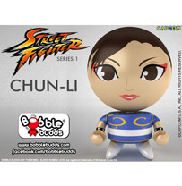 Bobble Budds™: Street Fighter™ Round 1 - Chun-Li