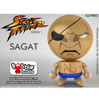Bobble Budds™: Street Fighter™ Round 1 - Sagat