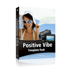Positive Vibe Template Pack