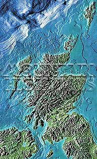 Scotland Map Package #515