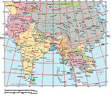 Frontiers Windows EPS map of  Central Asia