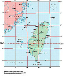 Frontiers Windows EPS map of  Taiwan (Formosa)