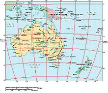Frontiers Windows EPS map of  Australasia