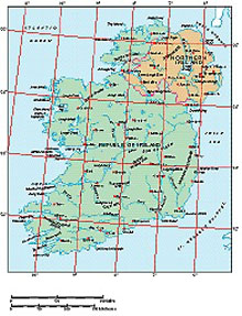 Frontiers Windows EPS map of  Ireland