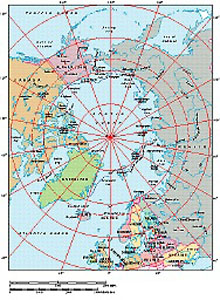 Frontiers Windows EPS map of  Arctic Ocean centered at 0x