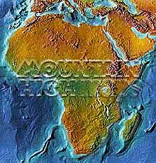 Africa continent Map Package #101