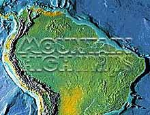 South America, Northern half Map Package #214