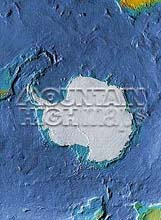 Antarctic Polar Map Package #611