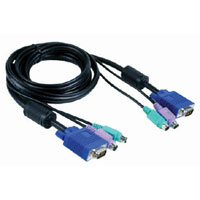 10ft KVM Cable Male to Male Connector