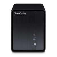 ShareCenter 2-Bay Network Storage with 1TB (DNS-325-110)