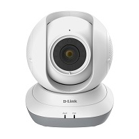 D-Link HD Pan & Tilt WiFi Baby Camera (DCS-855L)