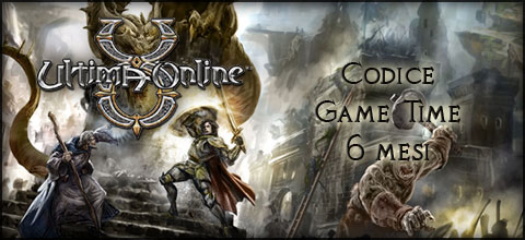 Codice Game Time 6 Mesi di Ultima Online™