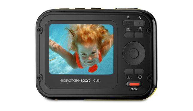 kodak easyshare sport underwater digital camera c123 point shoot rh findmyorder com Kodak EasyShare Sport Example Kodak EasyShare Camera