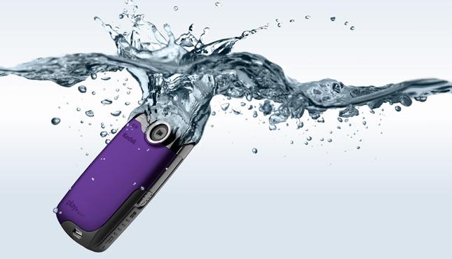 KODAK PLAYSPORT Video Camera / Purple