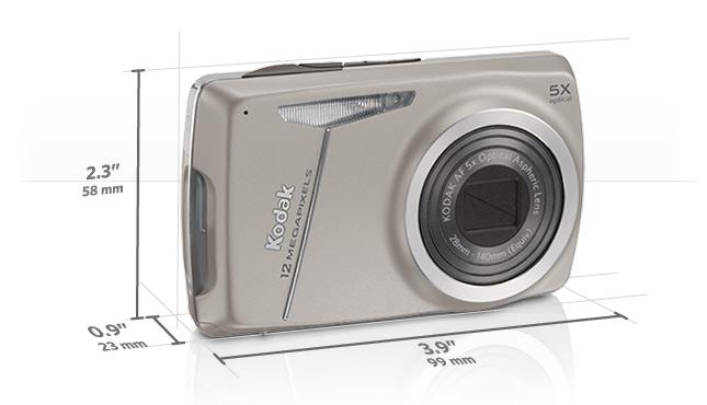M550 camera dimensions