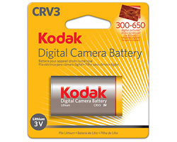 KODAK Lithium Digital Camera Battery CRV3