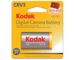 KODAK Lithium Digital Camera Battery CRV3