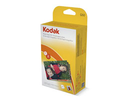 KODAK Color Cartridge & Photo Paper Kit / G / 50 Count