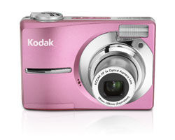 KODAK EASYSHARE C913 Digital Camera / Pink / Refurbished