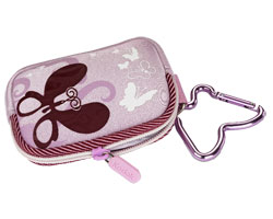 KODAK Youth Pastel Camera Case / Lavender / Butterfly
