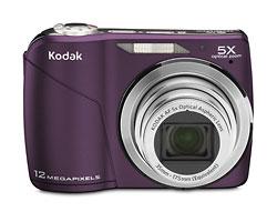KODAK EASYSHARE C190 Digital Camera / Plum / Refurbished