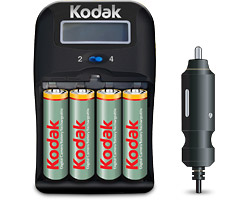 KODAK 1 Hour Charger K6600-C+4