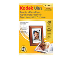 KODAK Ultra Premium Photo Paper / 4 × 6 in. (10,2 × 15,2 cm) / Studio Gloss / 60 Sheets